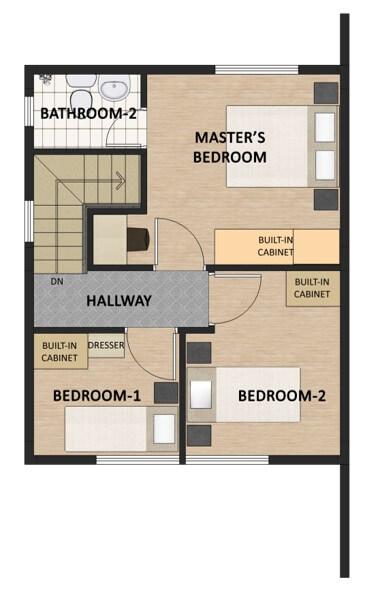 Theresa Heights Single Detached Floorplan 2