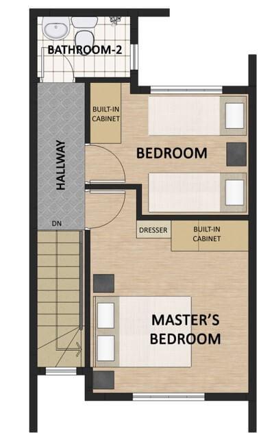 Theresa Heights Townhouse Floorplan 2