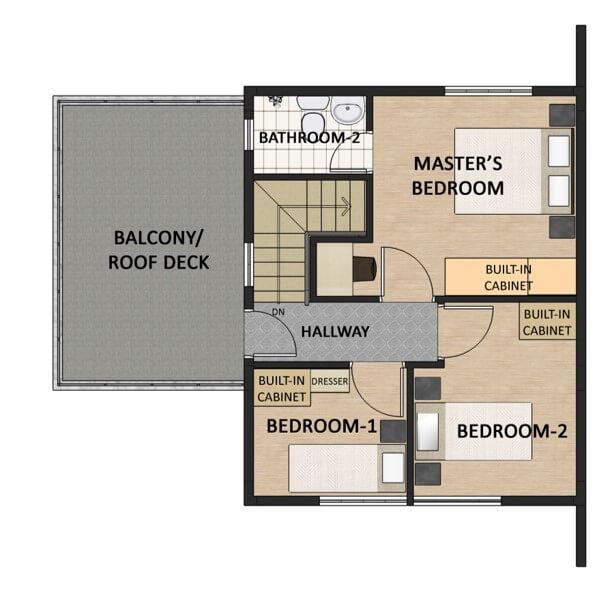 Victoria Villas Single Detached Floorplan 2