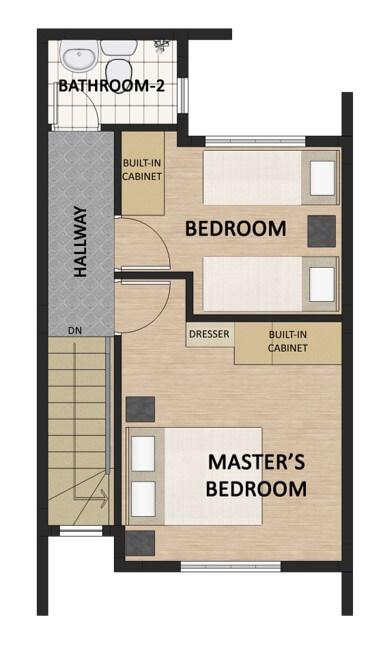 Victoria Villas Townhouse Floorplan 2